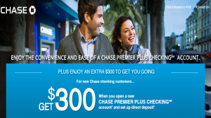 Chase Premier Plus Checking Coupon Code ($300) And Account Review