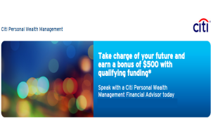 Citi Personal Wealth Management Review: $1,000 Bonus Offer