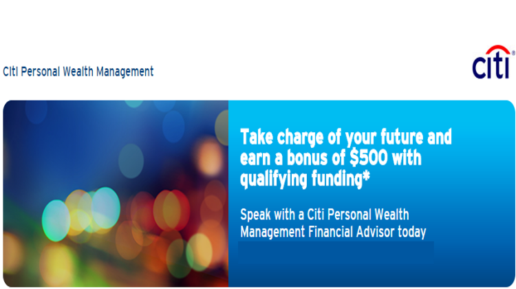 Citi personal wealth management review 1000 bonus offer bank citi personal wealth management promotion altavistaventures Choice Image