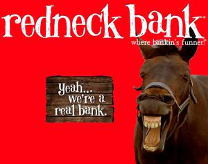 Redneck Bank Mega Money Market Account