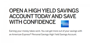 American Express High-Yield Savings Account: Earn 1.35% APY Rate [Nationwide]