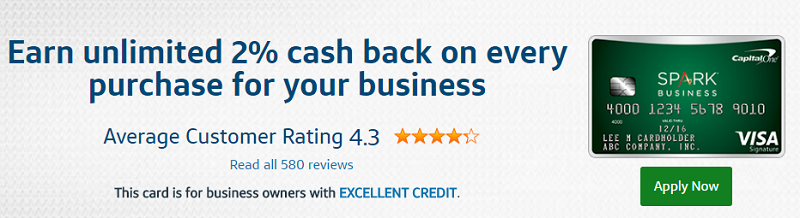 capital one spark cash for business card - Spark Business Card