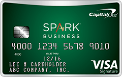 Capital One Spark Cash Select for Business Card