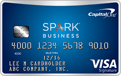Capital One Spark Miles Select for Business Credit Card