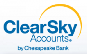 Chesapeake Bank Clear Sky Savings Account: Earn 0.90% APY Rate [Nationwide]