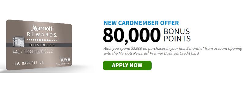 Marriott Rewards Premier Business Credit Card Bonus Bank Deal Guy
