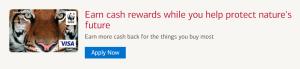 World Wildlife Fund Card $200 Cash Rewards Bonus + Up To 3% Cash Back + No Annual Fee