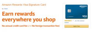 Amazon Rewards Visa Signature Card $90 Gift Card Bonus + Up To 3% Cash Back (Targeted)