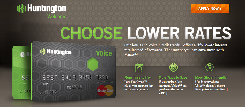 Huntington voice credit card review earn 3x the rewards colourmoves