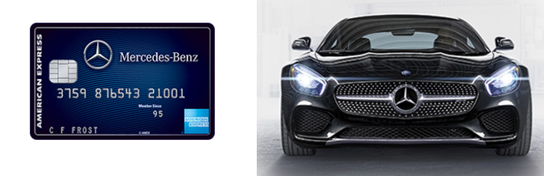 Mercedes benz credit card from american express 10 000 for Mercedes benz credit