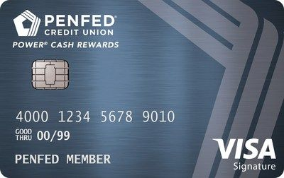 PenFed Platinum Cash Rewards Plus Visa Card