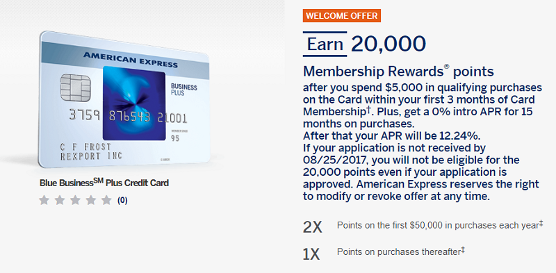 American express blue business plus credit card 20000 for Amex small business credit card