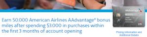 CitiBusiness / AAdvantage Platinum Select World Mastercard 50,000 Bonus Miles + Annual Companion Certificate
