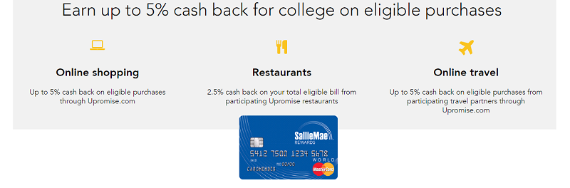 Sallie Mae Rewards Card