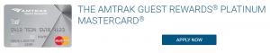 Amtrak Guest Rewards Platinum Mastercard