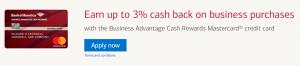 Bank of America Business Advantage Cash Rewards Mastercard $200 Statement Credit Bonus + Up to 3% Cashback