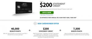 Chase Marriott Rewards Premier Credit Card $200 Offer + 40,000 Points Bonus + No Annual Fee 1st Year