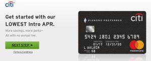 Citi Diamond Preferred Card Review: 0% Intro APR for 21 Months