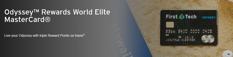 Odyssey Rewards World Elite MasterCard