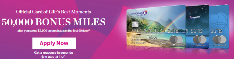 Hawaiian Airlines World Elite Card