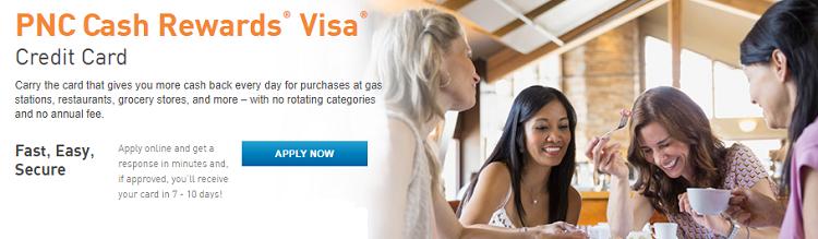 pnc bank cash rewards credit card review