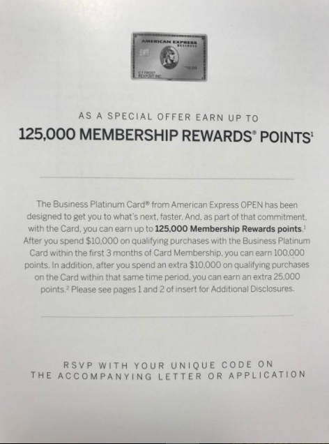 American Express Business Platinum Pdf Bank Deal Guy