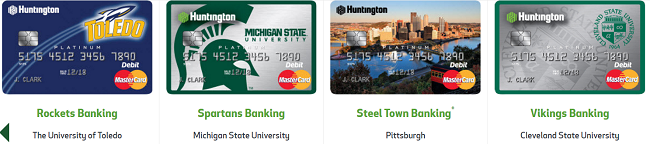 Huntington bank platinum debit card review bank deal guy for Huntington card designs