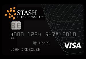 Stash Hotel Rewards Visa Signature Card 10,000 Stash Points Bonus + No Annual Fee First Year