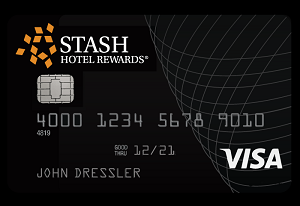 Stash Hotel Rewards Visa Signature Card 50,000 Stash Points Offer + 3X Points at Stash Hotels + No Annual Fee First Year (Targeted)
