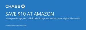 Amazon 1-Click Default Payment Offer