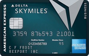American Express Delta Reserve for Business Credit Card 40,000 Bonus Miles + 10,000 MQMs + Companion Certificate