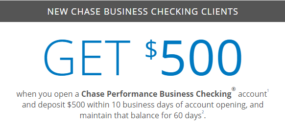 Chase checking coupon code