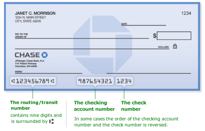 Routing Number For Chase Freedom Credit Card Infocard Co