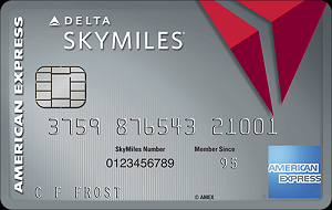 Platinum Delta SkyMiles Credit Card by American Express 35,000 Miles Promotion + 5,000 Medallion Qualification Miles (MQMs)