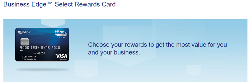 Us bank business edge select rewards card 10000 points for Us bank business card