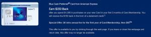 American Express Blue Cash Preferred Card $200 Statement Credit Offer + 6% Cash Back at U.S. Supermarkets