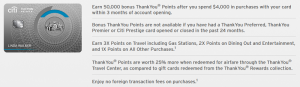 Citi ThankYou Premier Card Review: 3X Points on Travel and Gas