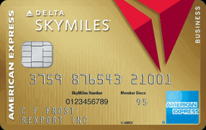 Gold Delta SkyMiles Business Credit Card from American Express 60,000 Bonus Miles