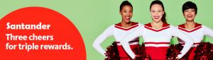 Santander Bravo Credit Card $100 Cash Back Bonus + 3X Rewards Points On Purchases + No Annual Fee First Year