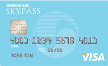 SkyBlue SKYPASS Visa Card 10,000 SKYPASS Bonus Miles + No Annual Fee