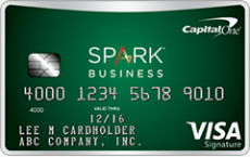 Capital One Spark Cash Visa For Business Card $1,000 Bonus + 2X Cash Back + No Annual Fee First Year (Targeted)