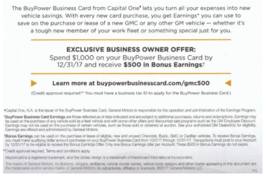Capital one buypower business card 500 bonus earnings 5 earnings one buypower business card pdf colourmoves