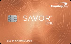 Capital One SavorOne Cash Rewards Credit Card $150 Bonus + 3% Cash Back on Dining + No Annual Fee