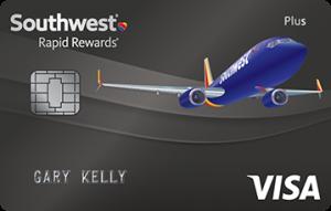 Southwest Rapid Rewards Plus Credit Card 40,000 Bonus Points + 3,000 Bonus Points After Your Cardmember Anniversary