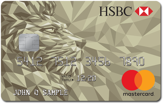 HSBC Gold Mastercard credit card