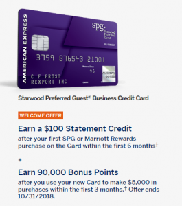 Starwood preferred guest business credit card 90000 bonus points starwood preferred guest business credit card 90000 bonus points 100 statement credit colourmoves