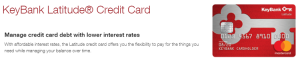 KeyBank Latitude Credit Card Review: 0% Intro APR on Purchases and Balance Transfers for First 15 Billing Cycles + No Annual Fee