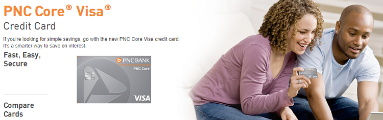 Pnc Core Visa Credit Card Review 0 Intro Apr On Balance Transfers And Carried Balances For 15 Billing Cycles No Annual Fee