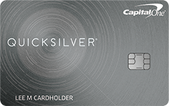 Capital One Quicksilver Credit Card $150 Cash Bonus