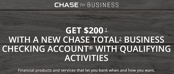 Chase Business Coupon Code Promotion